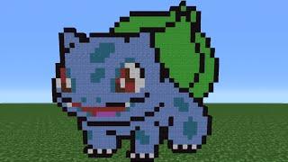 Minecraft Tutorial: How To Make Bulbasaur