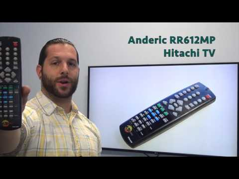 ANDERIC RR612MP Hitachi TV Remote Control