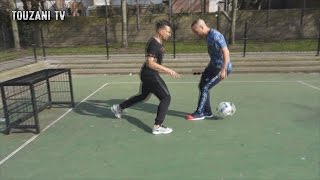 PANNA CHALLENGE - profvoetballers DARRI VS BEL HASSANI