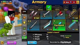 Pixel Gun 3D | Leaders Sword Review - Video Youtube