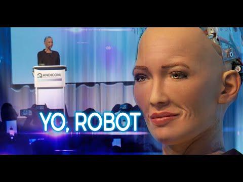 Esta Es Sofía La Robot Más Desarrollada