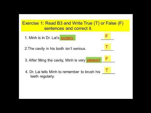 English 7 - Unit 10 - Health and Hygiene (B3)