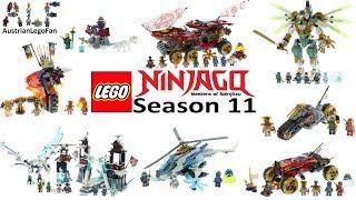 Lego Ninjago Season 11 Secrets of the forbidden Spinjitzu Compilation of all Sets