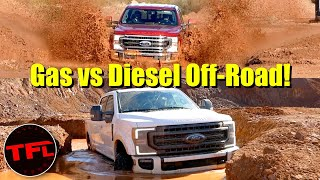 I Drove the Gas and Diesel Ford F-250 Tremor Off-Road, and THIS One is Clearly Better!