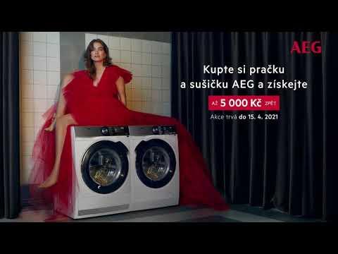 Pračky a sušičky AEG - zbavte se stereotypů