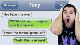 People Who Got Caught Cheating Over Text!