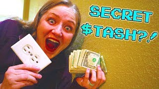 We Found A Stash Of Cash In Our Wall!
