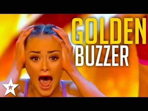 ALL GOLDEN BUZZERS on Britain's Got Talent 2017 | MerseyGirls, Sarah Ikumu and More!! (видео)