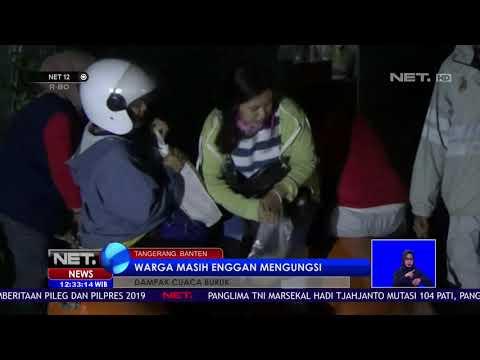 Puluhan Rumah Terendam Banjir  70 Cm di Tangerang   NET 12