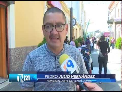 Alcaldía de San Salvador autoriza ventas navideñas en calle Delgado en centro de la capital