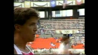 Dave Johnson-1988 Olympic Seoul Decathlon Long Jump