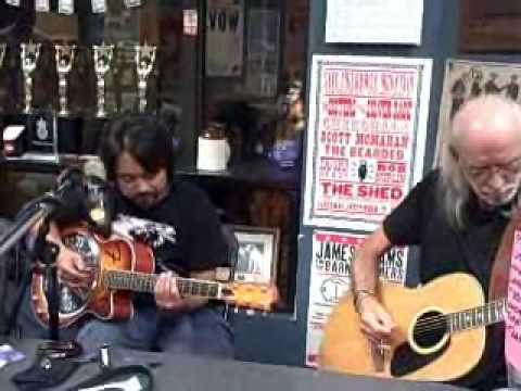Garter Snake Blues--Rey Pineda, slide guitar