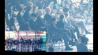 방탄소년단 (BTS) Reaction To 트와이스 Stage ( YES Or YES + DTNA) 4K 190424