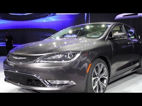 How Classic American Design Inspired the 2015 Chrysler 200