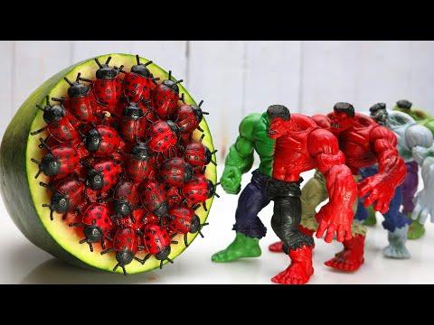 Stop Motion Cooking ASMR – beetle mukbang From Hulk Primitive IRL Recipe 4K | Cuckoo