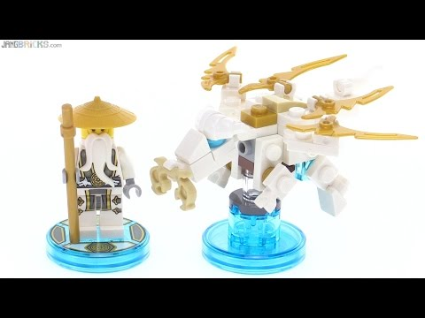 LEGO Dimensions Sensei Wu Fun Pack toys reviewed! 71234
