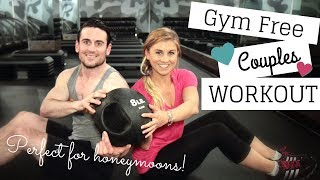 FIT | Killer Bodyweight Workout For Guys & Girls | Gym Free Couples Routine