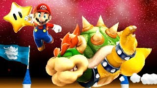 Super Mario Galaxy #41 Fiery Dino Piranha Boss & Lava Star