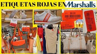 MARSHALLS🔥SEMANA De ETIQUETAS ROJAS En ZAPATOS‼️BOLSAS,ropa Ect/COMPRAS 2020 De OFERTA