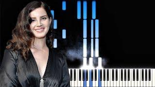 Lana Del Rey   The Greatest | Piano Cover | Instrumental Karaoke