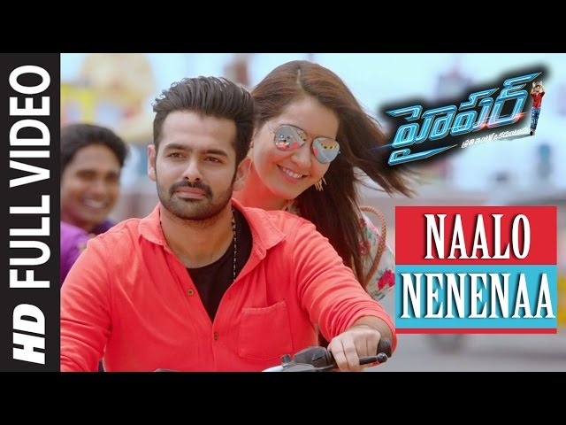Naalo Nenenaa Full Video Song HD | Hyper Movie Songs | Ram, Raashi Khanna