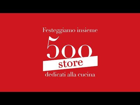 Gruppo LUBE festeggia 500 store dedicati alla cucina
