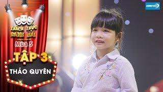 Thách thức danh hài 5  Tập 3: Trường Giang, Trấn Thành thích thú khi cô bé dùng chiêu hối lộ cao tay