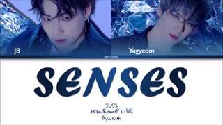JUS2 - Senses | Han/Rom/PT-BR | Color Coded Lyrics