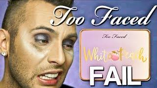 No BULLSH*T Too Faced WHITE PEACH Palette Review | FAIL | PopLuxe