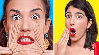TRY NOT TO LAUGH CHALLENGE || Best Funny Pranks On Friends By 123 GO! CHALLENGE