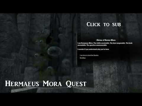 Hermaeus Mora Voice — Elder Scrolls Online