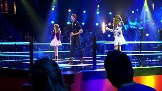 Camille, Aaron & Anneleen – 'Mamma Mia' | Battle | The Voice Kids | VTM