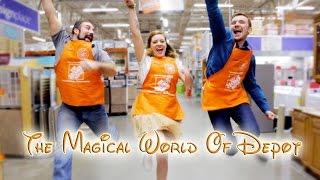 """The Magical World of Depot"" - Home Depot Disney Parody"