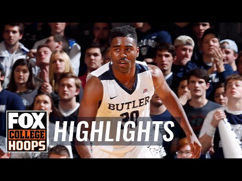 Butler Vs Morehead State | Highlights | FOX COLLEGE HOOPS