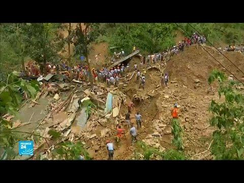 العرب اليوم - شاهد: استمرار عمليات البحث عن المفقودين بعد مرور إعصار في الفلبين