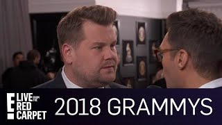 James Corden Reveals 2018 Grammys Performances | E! Live from the Red Carpet