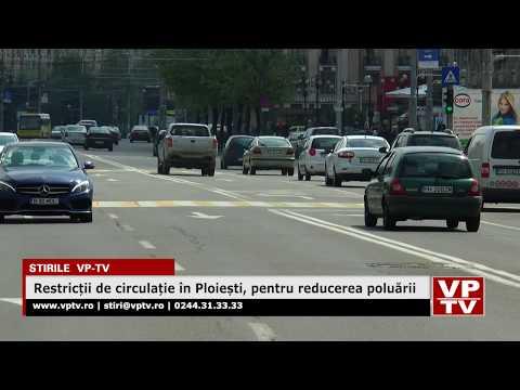 Restricții de circulație în Ploiești, pentru reducerea poluării