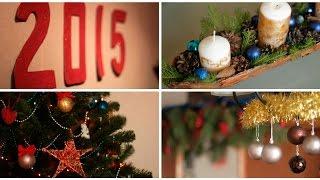 Украшаем комнату на Новый Год (2015 Видео перезалито по техническим причинам)