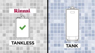 Watch Rinnai Hot Water Wisdom- Tank vs. Tankless