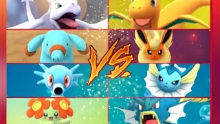 Horsea  - (Pokémon) - Pokémon GO Gym Battles 2 Gyms Phanpy Horsea Aerodactyl Murkrow Bellossom Muk & more