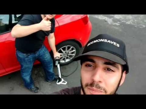 Mini bomba | bomba de pié y bomba de piso Bici + café