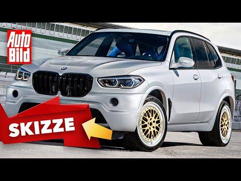 BMW X5 Le Mans (2020): Skizze - Neuauflage - Motor - V12 - Infos
