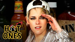 Kristen Stewart Brings the Angels to Eat Spicy Wings | Hot Ones