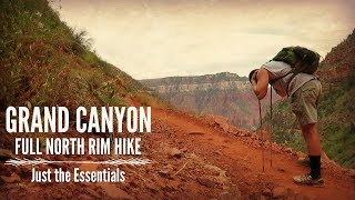 Hiking the Grand Canyon, North Rim | Just the Essentials
