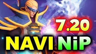 NAVI vs NiP - HYPE NEW 7.20 PATCH! - MegaFon WINTER CLASH DOTA 2