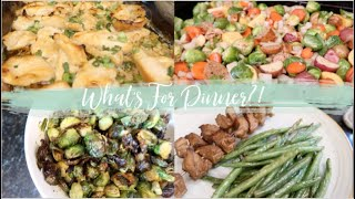 A Week Of Healthy Simple Family Dinner Ideas!  Whats For Dinner?!