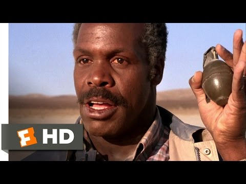 Lethal Weapon (8/10) Movie CLIP - Grenade Standoff (1987) HD