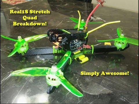 Realacc Real1S Quad Breakdown