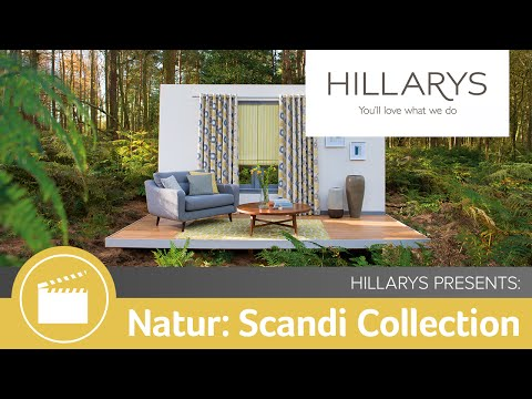 Behind the scenes of Natur: The Scandi collection by Hillarys YouTube video thumbnail