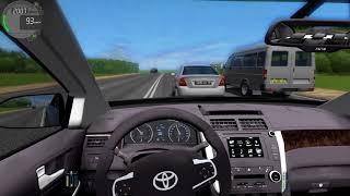 Сity Car Driving 1.5.6 - мы за тонер на Toyota Camry V55